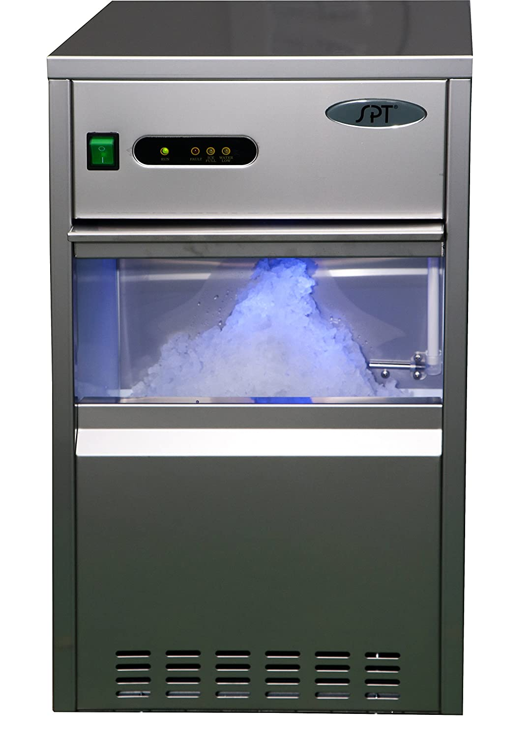 SPT SZB-20 Automatic Flake Ice Maker - 66-lb, Stainless Steel Sunpentown