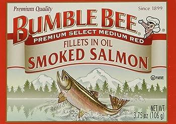 BUMBLE BEE High Protein Smoked Salmon