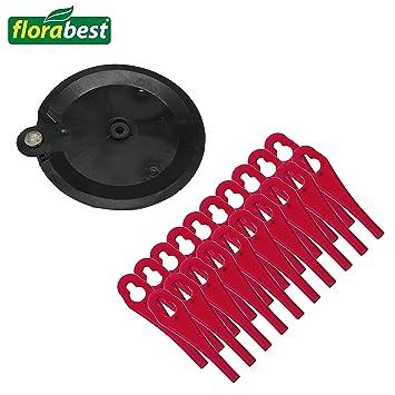 Florabest 273039 - Cuchillas de plástico (20 unidades, con ...