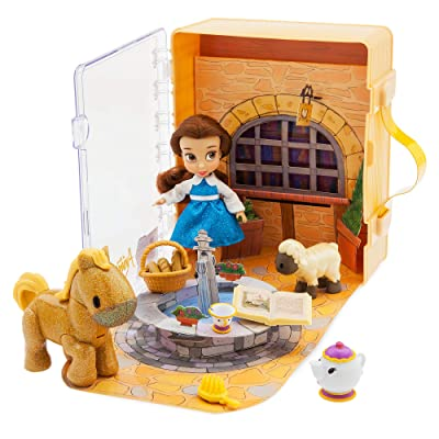 Disney Animators' Collection Belle Mini Doll Play Set: Toys & Games
