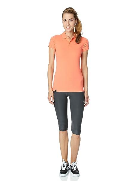 Nike Club - Polo de Tenis para Mujer, tamaño S, Color Naranja ...