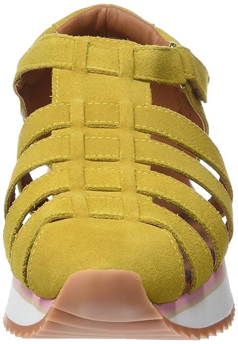 Gioseppo 43393, Zapatillas Sin Cordones para Mujer, Amarillo (Mostaza), 41 EU