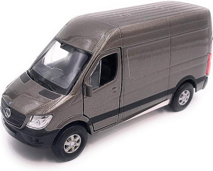 H Customs Mercedes Benz Sprinter Modellauto Auto Lizenzprodukt 1 34 1 39 Grau Auto