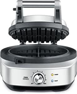 Breville BWM520BSS The No Mess Waffle Maker, Silver