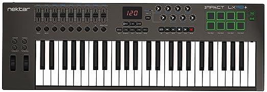 4 opinioni per Nektar Impact LX49+ Controller MIDI
