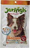 Vita Pet Jerhigh Chicken and Bacon Dog Treats, Small/Medium/Large dogs, Adult/Puppy/Senior, 100 g