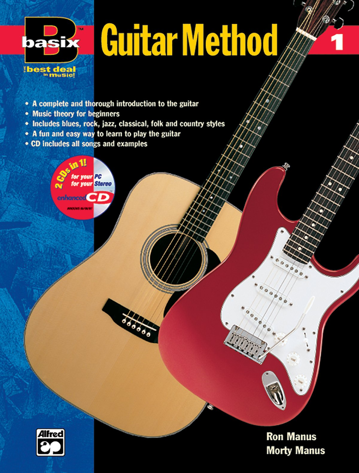 Basix Guitar Method, Bk 1: Book & Enhanced CD (Basix(R) Series) pdf