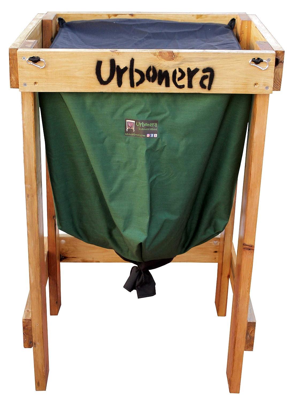 Urbonera: la abonera urbana Vermicompostador 125 litros + Estructura de Madera: Amazon.es: Jardín