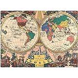 Quebra-cabeça 1000 peças - O Novo Mapa do Mundo - 1928
