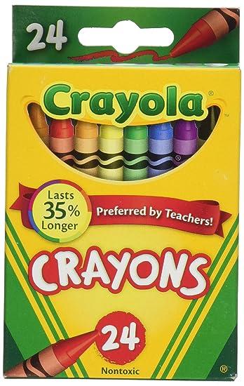 Crayola Crayons 24 Count   2 Packs (52 3024) by Crayola