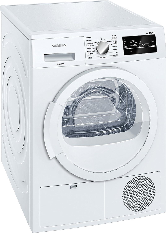 Siemens-lb iq500 - Secadora condensación wt46g210ee 8kg blanco ...