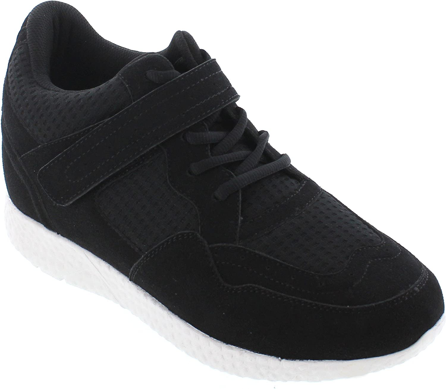 CALTO Men's Cheap SALE Start Invisible Height Increasing Elevator N - Shoes Sale SALE% OFF Black