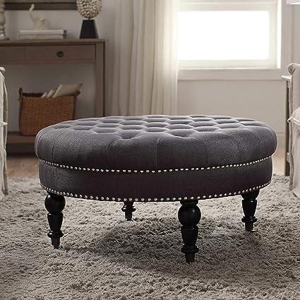 Brilliant Amazon Com Simple Interior Modern Cocktail Ottoman Round Short Links Chair Design For Home Short Linksinfo