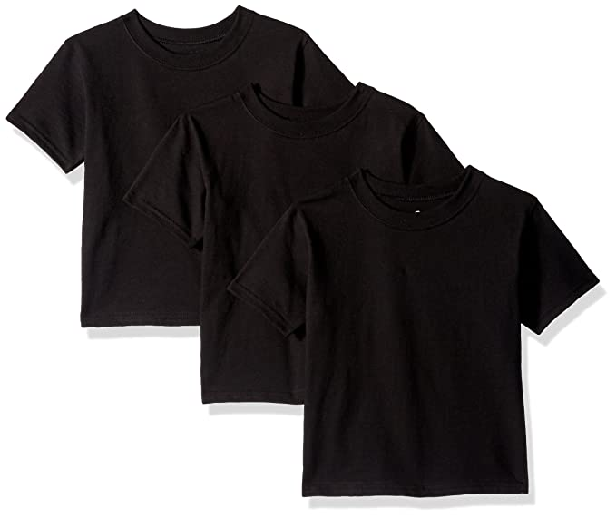 1705f54e Amazon.com: Hanes Boys Toddler ComfortSoft Tee (Pack of 3): Clothing