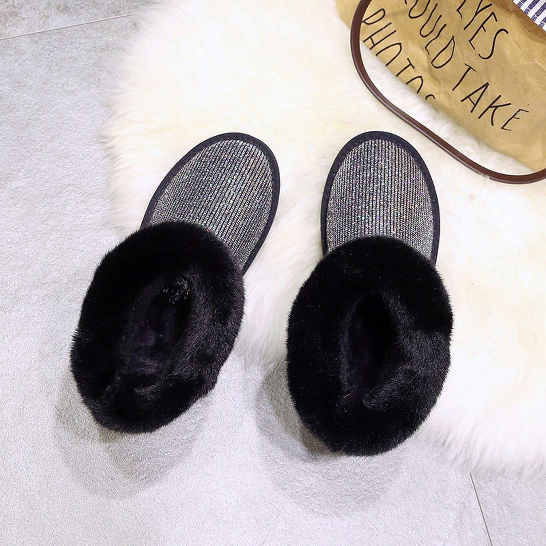 Fashion Women Snow Boots Winter Boots Shoes Super Warm Plush Boots Fashion Shoe