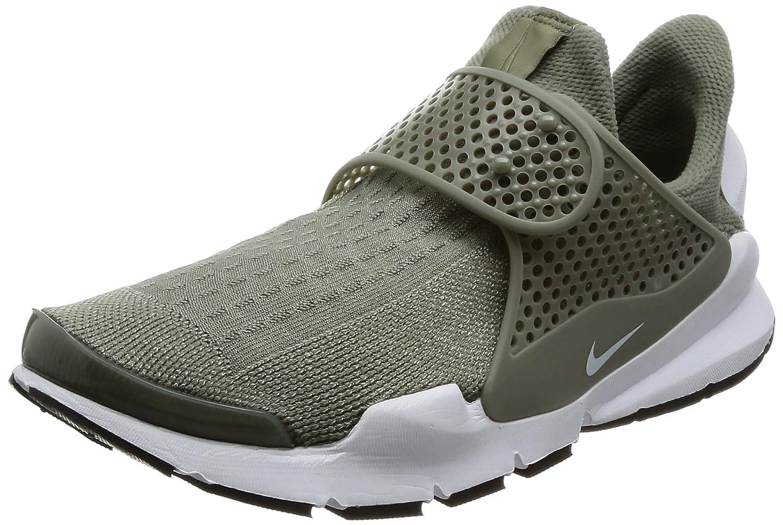 NIKE Womens Sock Dart Running Shoes B00FYZN1NO 7 B(M) US|Dark Stucco /White-black