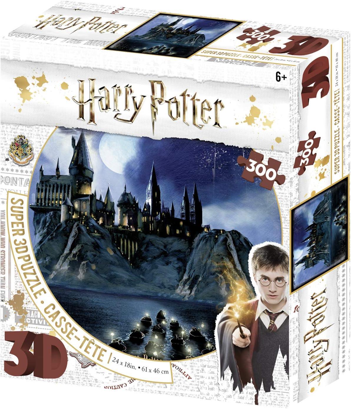 Harry Potter Super 3D Puzzle Magical!