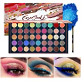 EYESEEK Matte Eyeshadow Palette Glitter 45 Shades Sparkle Eye shadow Palette Metallic Makeup Pallet High Pigmented Long…