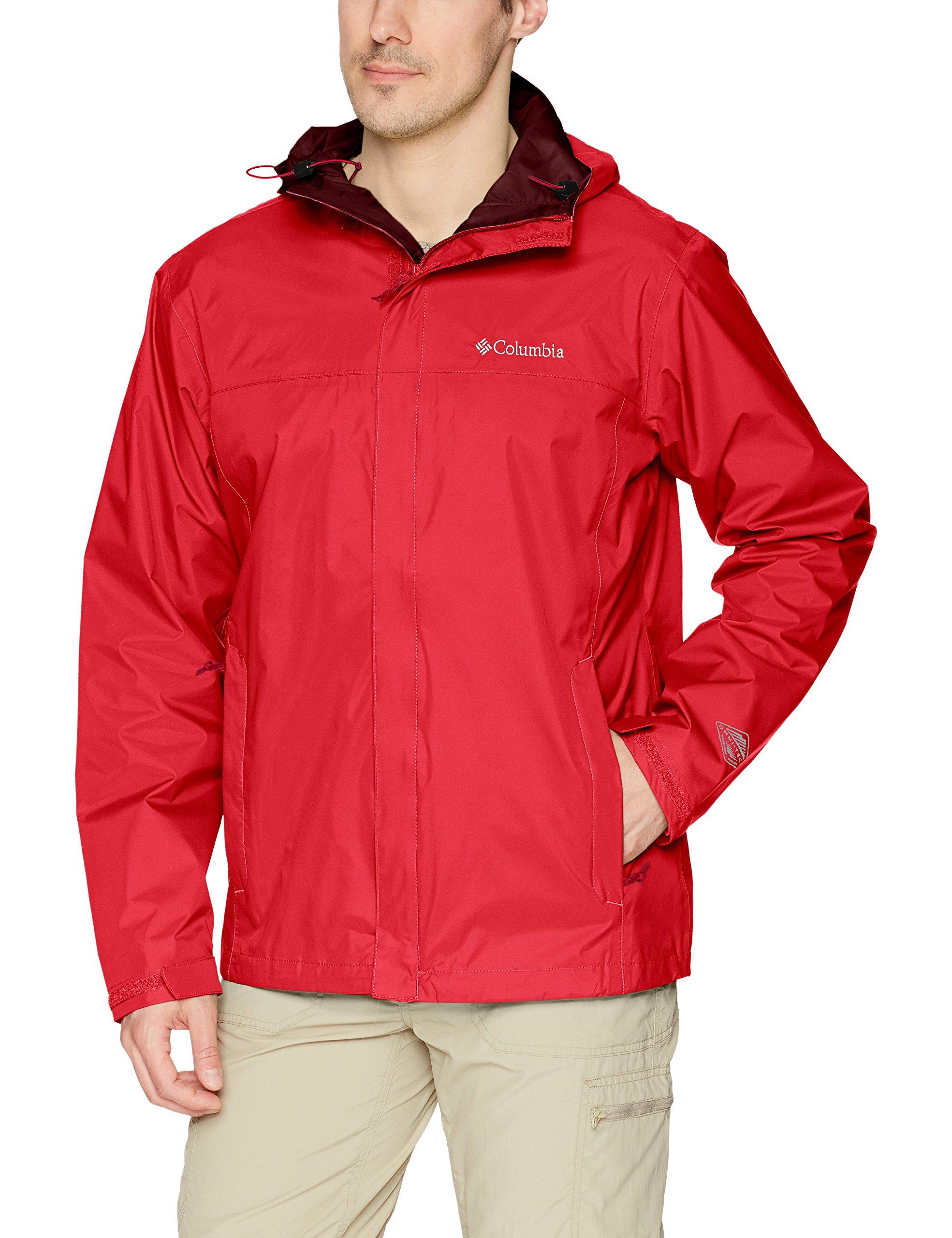 Columbia Men's Watertight Ii Jacket, Red Spark, S