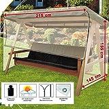 dandler schutzh lle f r gartenschaukel 2 sitzer transparent 36 x 24 x 7 cm 562149. Black Bedroom Furniture Sets. Home Design Ideas