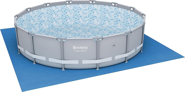 Tapiz de Suelo para piscina Bestway 520x 520 cm: Amazon.es: Jardín