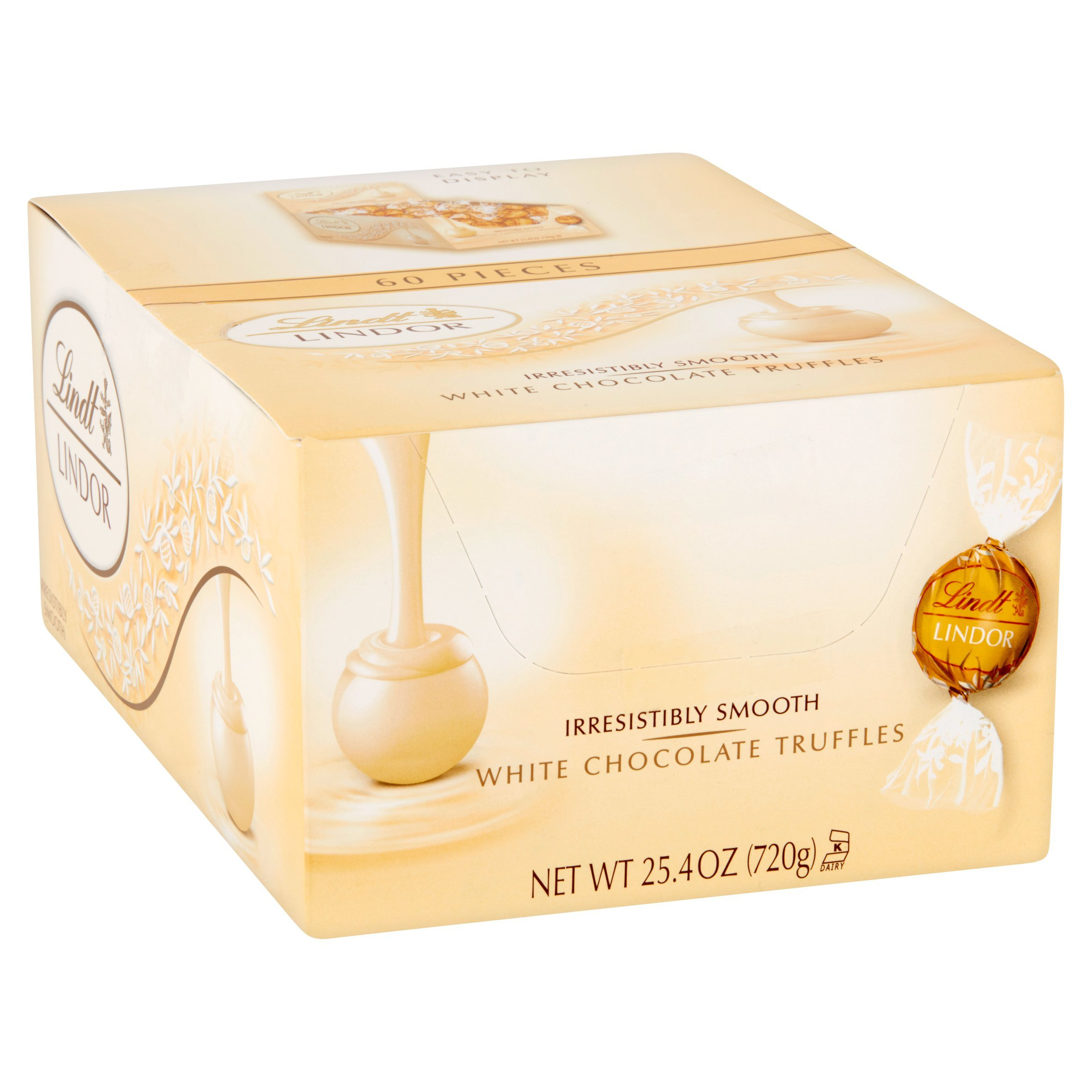 Lindt Lindor Truffles - White Chocolate - 60 ct by Lindt