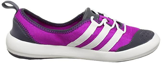 adidas Climacool Boat Sleek, Chaussures Multisport Outdoor femme - Rose - Pink (VIVID PINK S13/CHALK 2/SHARP GREY F11), 39 1/3