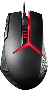 Lenovo Legion Precision Gaming Mouse, for Lenovo Legion Y720, Y520, Y530 Gaming Laptops, GX30J34225,black