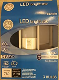 Ge Lighting 32309 Led Bright Stik 16 Watt 100 Watt
