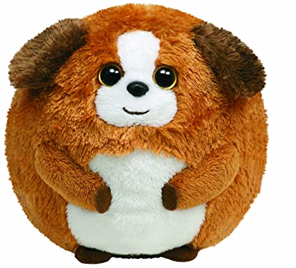 b3ef51d1346 Amazon.com  Ty Beanie Ballz Bandit - Dog  Toys   Games