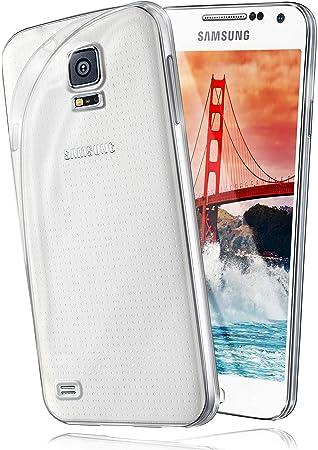 Funda Protectora OneFlow para Funda Samsung Galaxy S5 Mini Carcasa Silicona TPU 0,7 mm | Accesorios Cubierta protección móvil | Funda móvil paragolpes ...