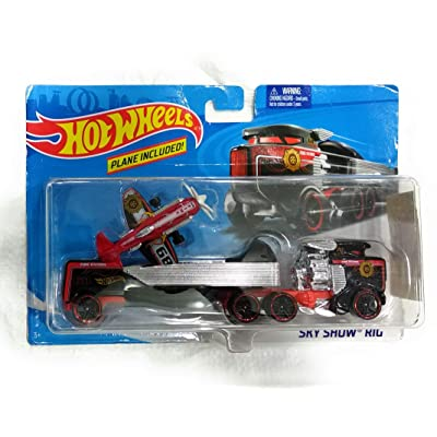 Hot Wheels Hotwheels City Sky Show Rig Multi: Toys & Games