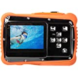 Digital Camera for Kids, Waterproof Sport Action Camera Camcorder Cam with 2.0'' LCD Screen,TOP-MAX Super HD Underwater Digital Video Camera Record Cam for Sports Swimming Diving and Beaching