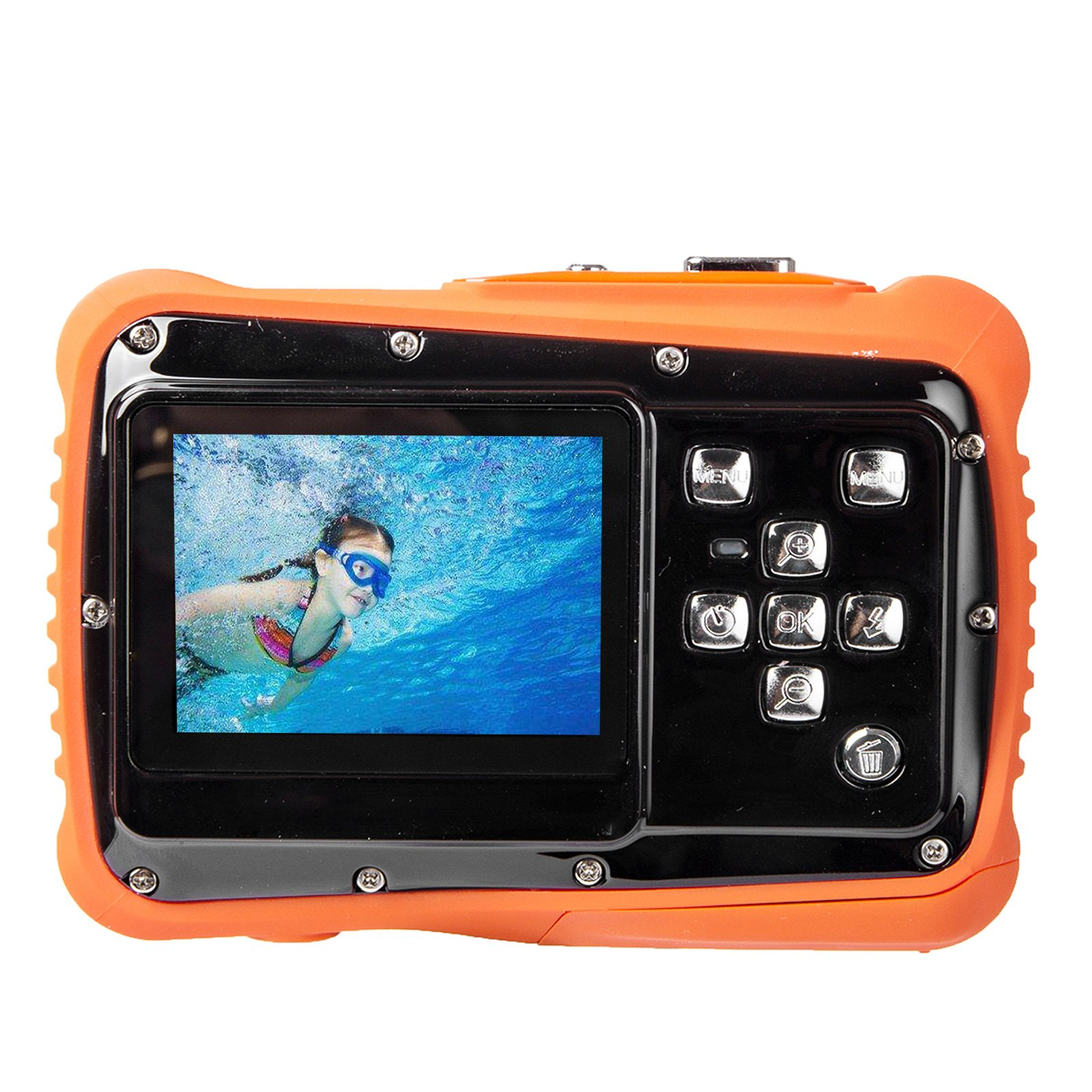 Digital Camera for Kids, Waterproof Sport Action Camera Camcorder Cam with 2.0'' LCD Screen,TOP-MAX Super HD Underwater Digital Video Camera Record Cam for Sports Swimming Diving and Beaching by TOP-MAX (Image #7)