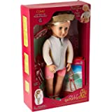 Our Generation Deluxe Coral Doll with Book - 3 Years and Above