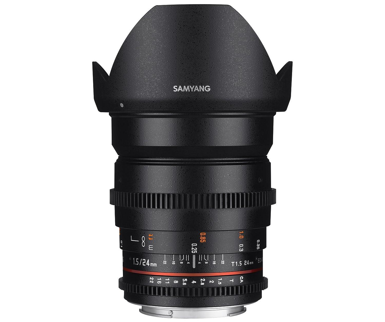 Samyang mm f  ED AS IF UMC Objetivo para Canon distancia