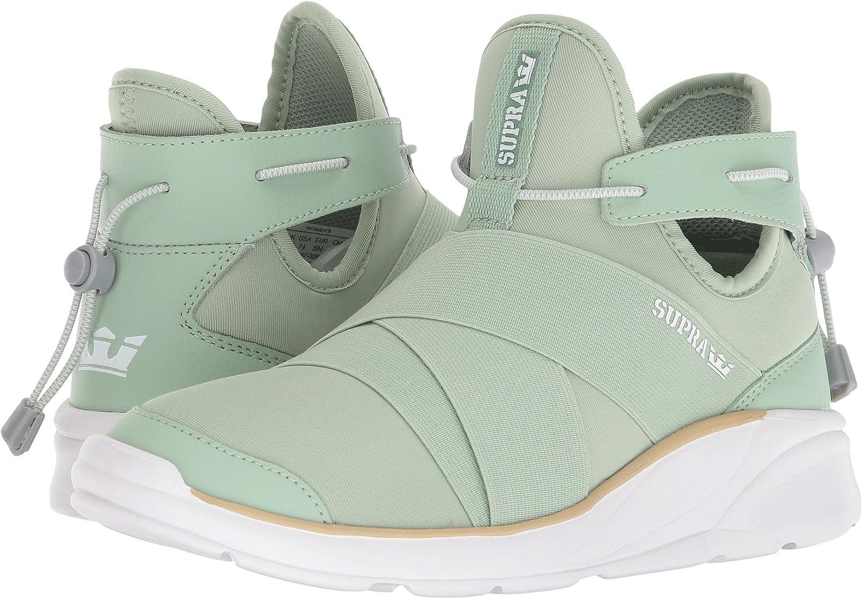 Supra Women's Anevay Shoes B074KHP3BD 9.5 M US|Smoke Green-white