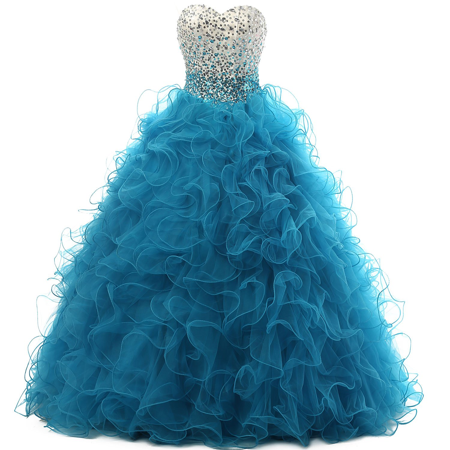 Dressytailor Ballgown Sweetheart Quinceanera Dress Prom Dress with Beading by Artie dress (Image #1)