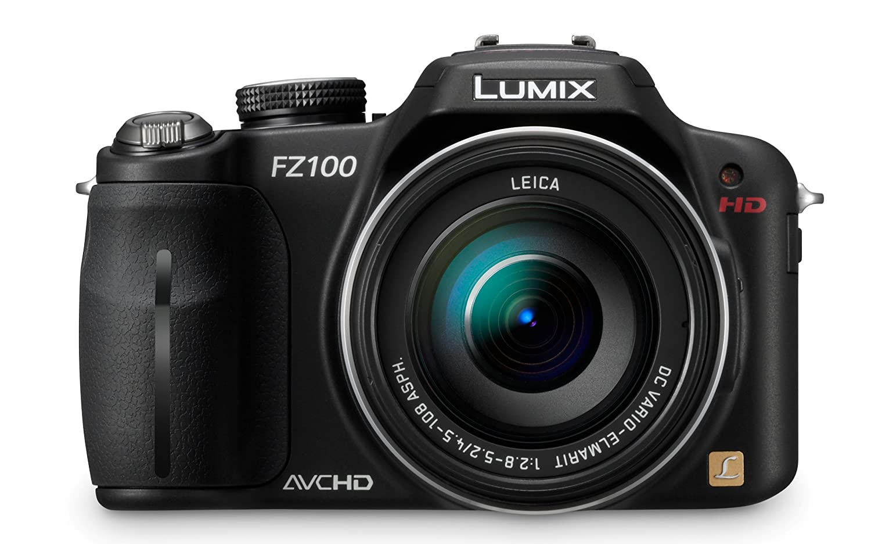 Panasonic Lumix DMC - fz100 14.1 MPデジタルカメラwith 24 x光学イメージStabilizedズームと3.0-inch LCD – ブラック   B003WJR68U