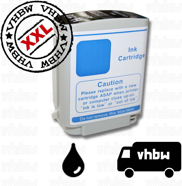 vhbw Cartucho de Tinta Negro Compatible con HP DesignJet 100, 100 Plus, 110, 110 Plus: Amazon.es: Electrónica