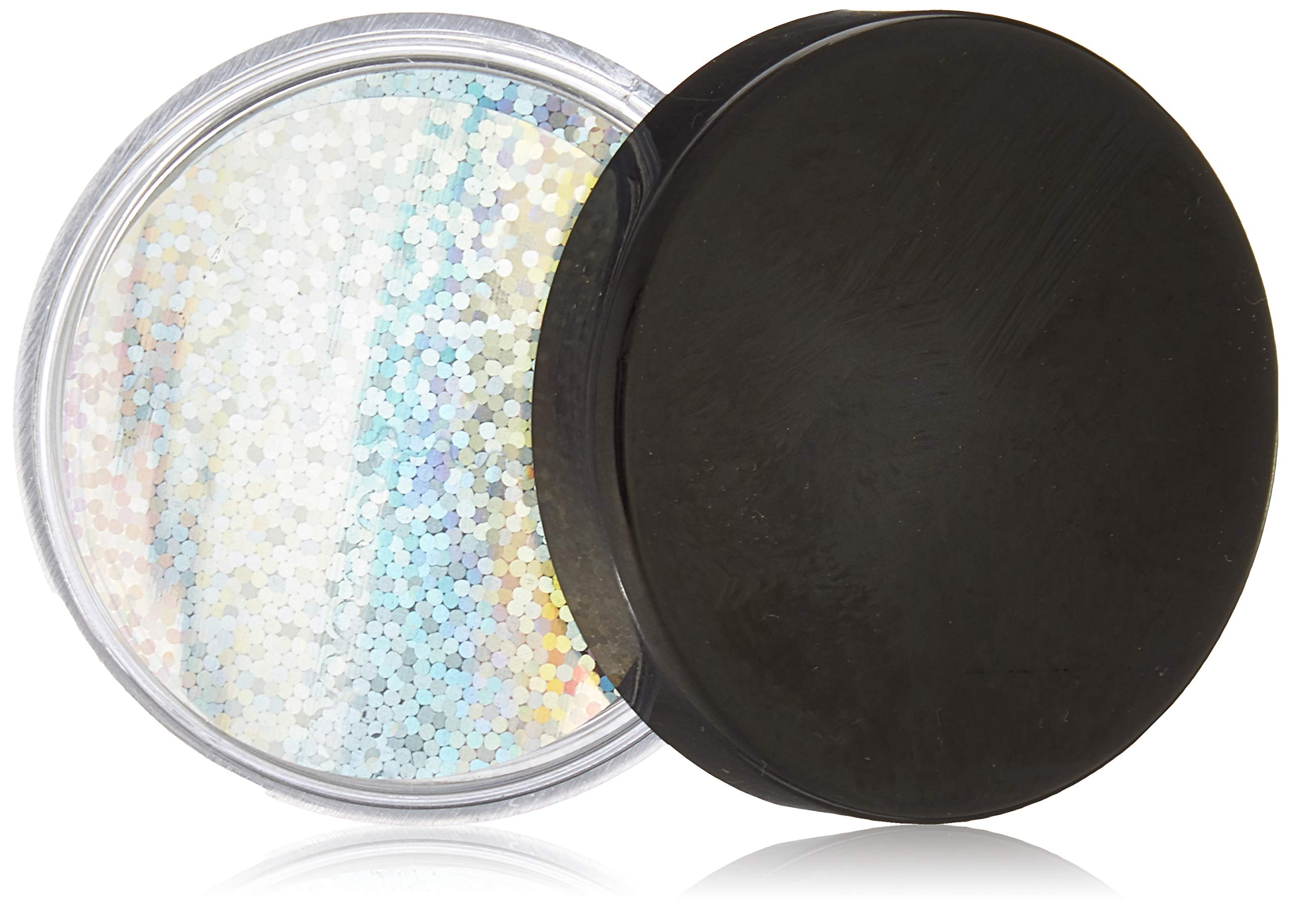 Mettoo Silver Holographic Sparkle Body Foil Festival Pro, 1000 Count
