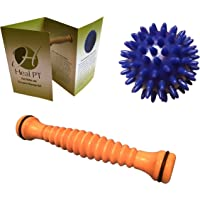 Foot Roller and Porcupine Ball by HealPT – Foot Roller for Plantar Fasciitis Relief – Effective Foot Massage Tools