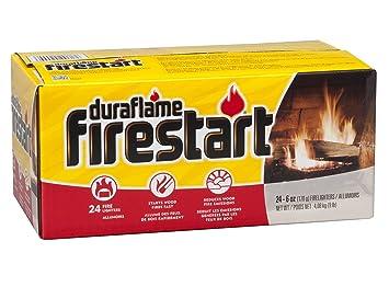 amazon com duraflame 2444 firestart firelighters 24 pack home rh amazon com