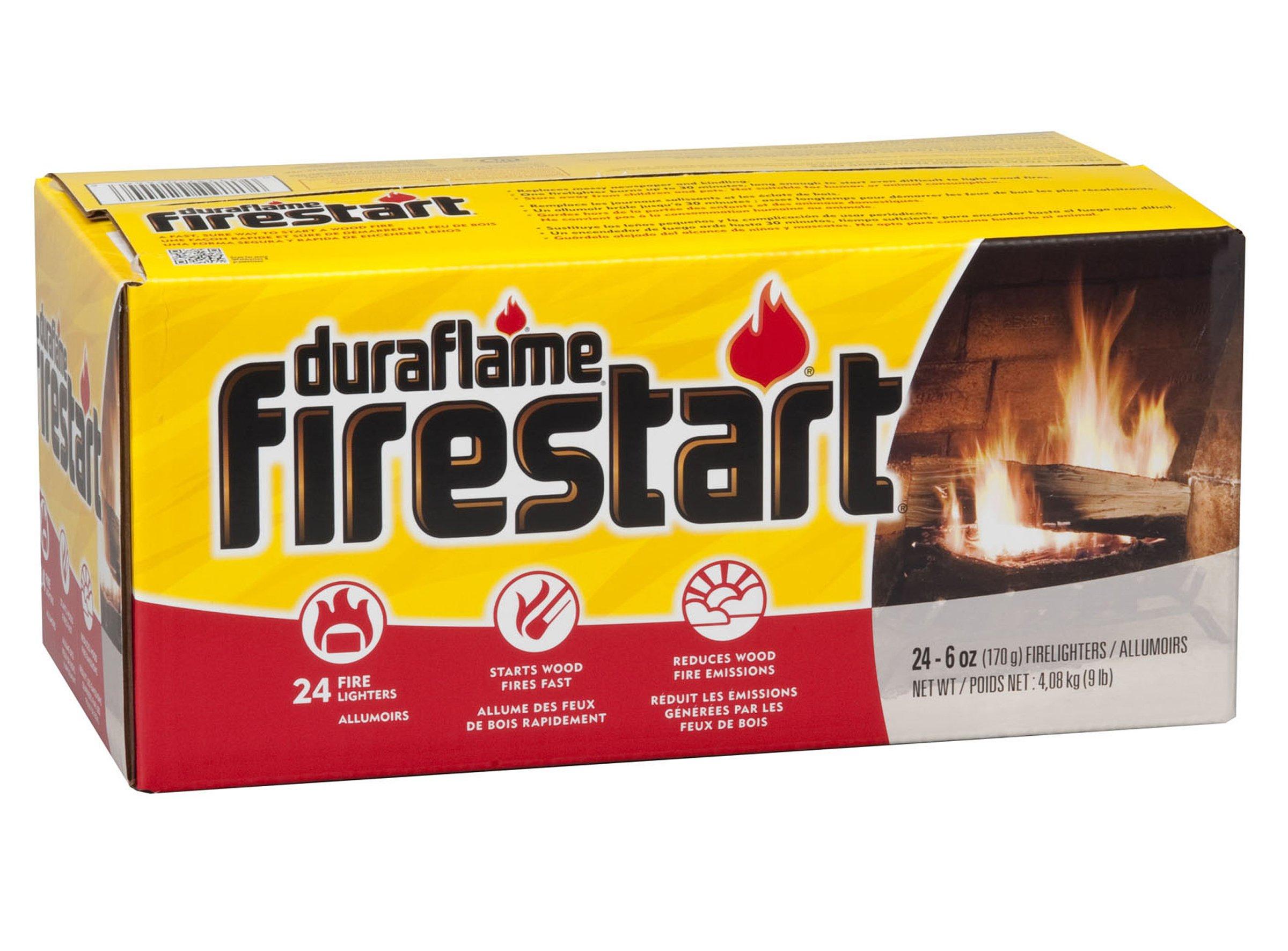 Duraflame 2444 Firestart Firelighters, 24-Pack by Duraflame