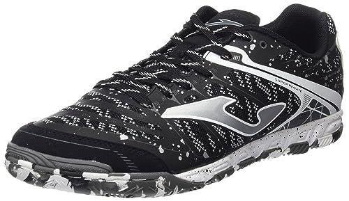 210d959089 Joma Men's Super Regate 701 Futsal Shoes, Black (Negro Indoor 000), 6