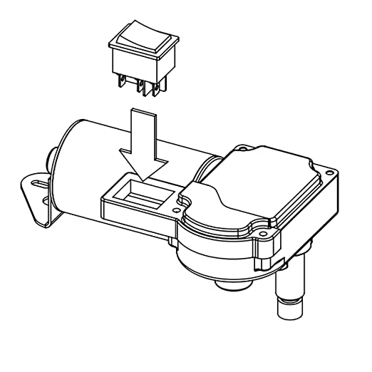 Amazon Com Wexco Wiper Motor 4r1 24 19s2 R110d One And A Half