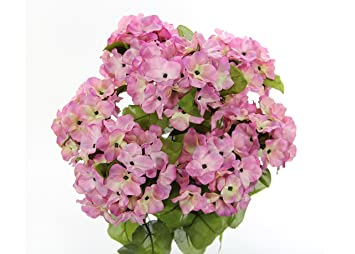 Amazon Jenlyfavors 22 Inch X Large Satin Artificial Hydrangea