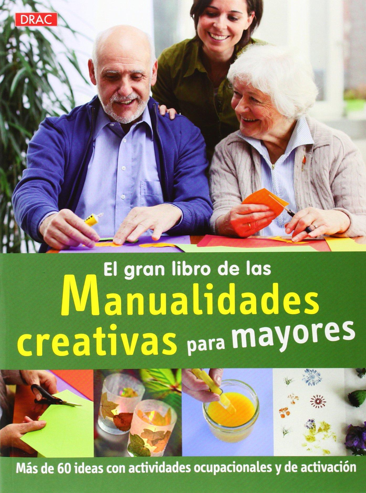 El gran libro de la manualidades creativas para mayores : más de 60 ideas con actividades ocupacionales y de activación (Spanish) Paperback – May 1, 2014