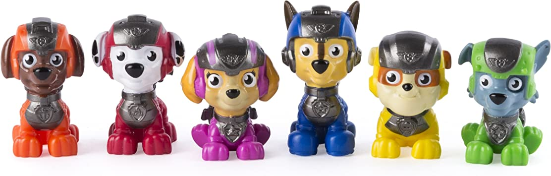 Paw Patrol Mission Paw - Mini Figures Gift Set - 6 Pack - Amazon Exclusive: Amazon.es: Juguetes y juegos