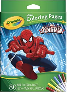 Amazoncom Crayola Marvel Spiderman Giant Coloring Pages Toys
